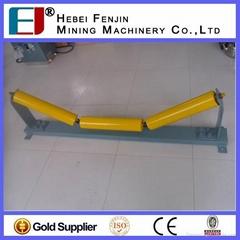 long life belt conveyor trough roller supplier