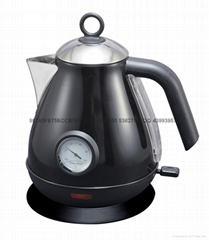 Colour Coating kettle/With a thermometer electric kettle