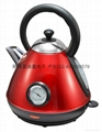 Colour Coating kettle/With a thermometer