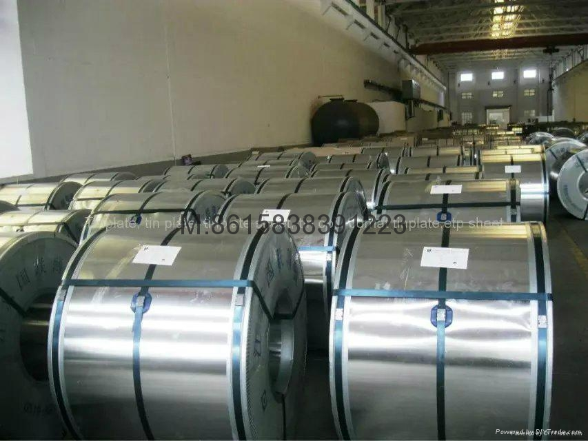 prime quality silver finish CA electrical tinplate sheets factory 3