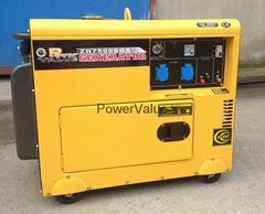 Genour Power PowerValue 5kva 6kva diesel silent generator electric generator ZH7