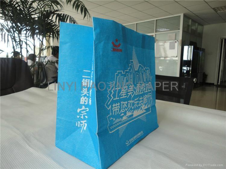 warp and weft kraft paper shopping bag 3