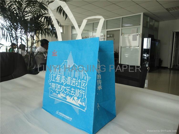 warp and weft kraft paper shopping bag 5