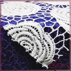 Guipure flower patten lace