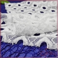 braided eyelet lace fabric