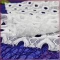 braided eyelet lace fabric