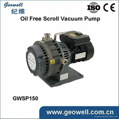 Smart Electric Power and pump oilless Vacuum Pump