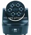 6pcs LED Moving hean Beam Light