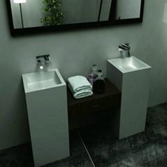 畅销欧洲人造石洗手盆BS-L6