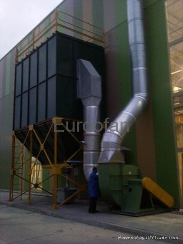 Centrifugal Axial Radial Fans Cabinet Roof Industrial Fan ATEX Ex-proof / Fan 5