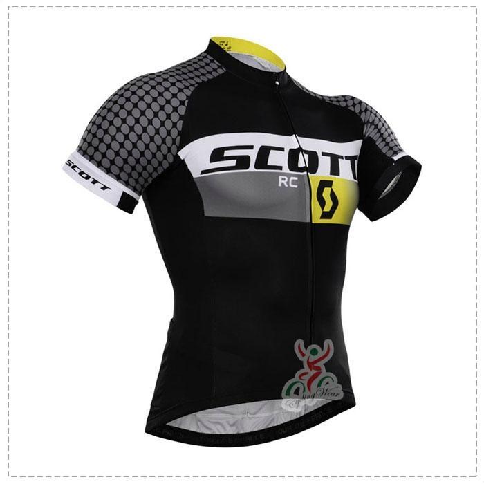 2015 Scott Black Cycling Clothing Bike Jersey Bike Clothing Cycling Jersey And B 2