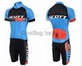 2015 Scott Blue Black Cycling Clothing Bike Jersey Bike Clothing Cycling Jersey  2