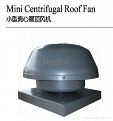 Mini Centrifugal Roof Fan