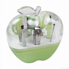 Manufacturer provide Custom Logo Promotional Gift Plastic Nail Manicure Set