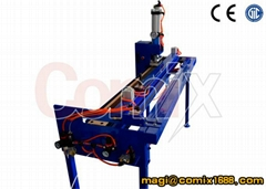 PVC conveyor belt finger punch machine