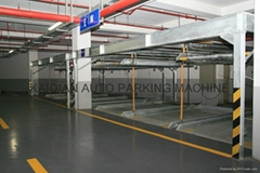 TWO LEVEL LIFT/SLIDING PARKING SYSTEM TWO POST PARKING SYSTEM
