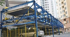 THREE LEVEL LIFT/SLIDING PARKING SYSTEM CAR PARKING SYSTEM