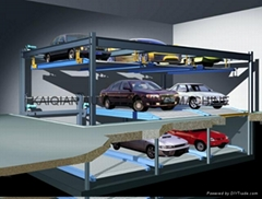 Lift-sliding Parking System,Car Parking System with pit ,pit mode parking system