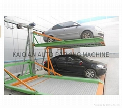 Two Layers  Lifting And Sliding Parking Lift System With Ce