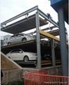 Three Levels Lifting Sliding Parking