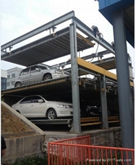 Three Levels Lifting Sliding Parking System, High Quality Parking System