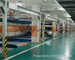 High quality Auto Two Level Lift-sliding Car Parking Systems