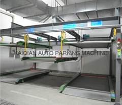 Three Levels Car Parking Lift /sliding Parking System, High Quality Car Parking