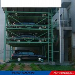 High quality Four-layer KQLS mechanical car parking equipment