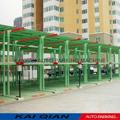 High quality KQHL Pit vertical lifting smart car parking system