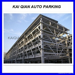 High quality 6 levels lift-sliding parking system cheap car elevator cost