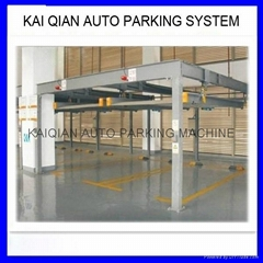 High quality 2 floors used home garage car lift for 4 cars