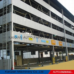 Five-layer KQLS lift sliding plc control car parking system
