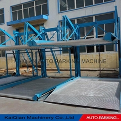 High quality KQHL two level puzzle mechanical hydraulic car parking system