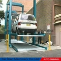 KQLS Two post car lifting parking system