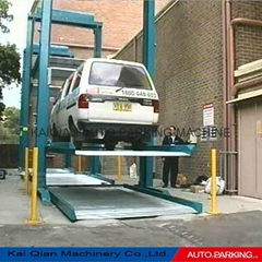 KQLS Two post car lifting parking system,car parking lift