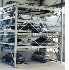 5 floors smart car parking system,High Quality smart car parking system
