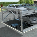pit type puzzle parking system,High