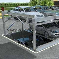 pit type puzzle parking system,High Quality mechanical car parking system