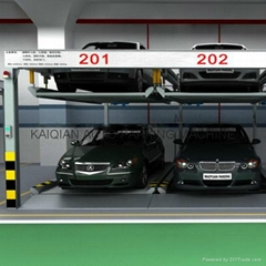 2 Level Vertical Horizontal Puzzle Car Parking System,Puzzle Car Parking lift