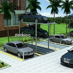 pit type car parking equipment,High Quality mechanical car parking system