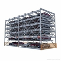 6 decks automatic car parking system
