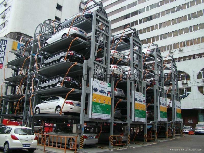 lifting car parking
