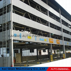 KQLS Five-layer lift sliding automated car parking system,lifting car parking