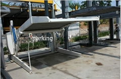 2 Post Hydraulic Home Using Tilting Car Parking Lift,High Quality Car Parking