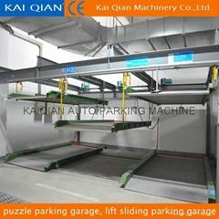 high quality puzzle parking garage, lift sliding parking garage
