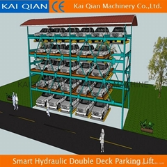Smart Hydraulic Double Deck Parking Lift/Mechanical Hydraulic Parking Lift