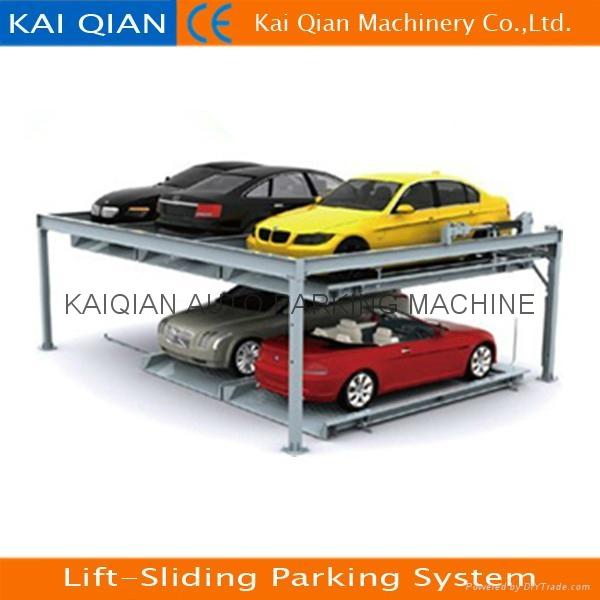 Lift Sliding Parking System Stacker Parking System Hydraulic Car Lift