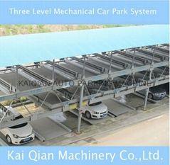 Three Level Mechanical Car Park System Manufacturer,High Quality car park system