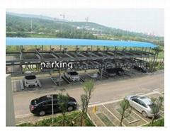 Three Level Smart Car Parking System,car parking lift, lift-sliding car parking
