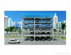 China 6 Level Automated Puzzle Parking System,car parking system